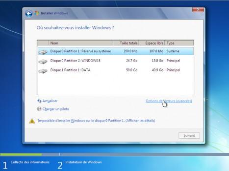 selectionner-options-de-lecteurs-avancees-installation-windows7