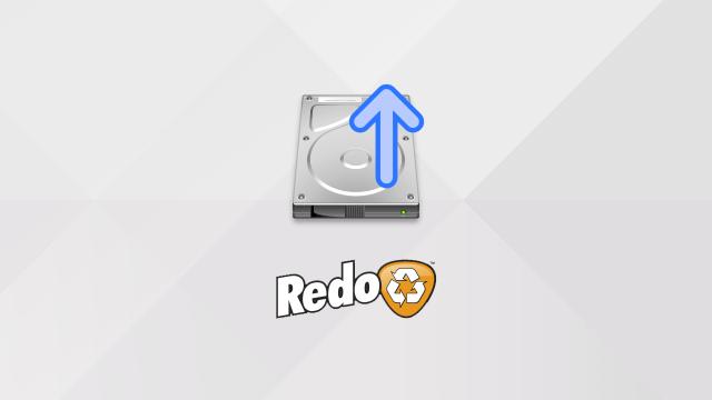Créer une sauvegarde d'un disque dur/SSD avec Redo Backup and Recovery