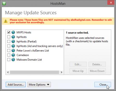 hostsman-selectionner-sources-fichier-hosts
