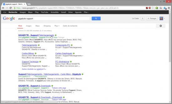 recherche-support-asus-google