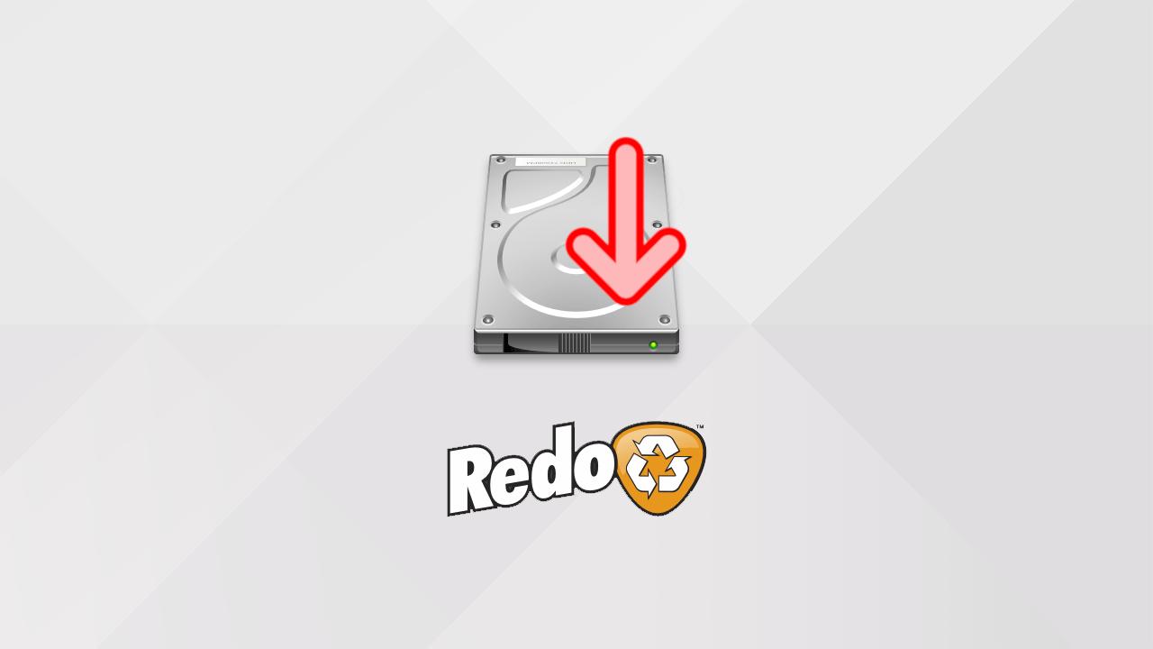 Restaurer une sauvegarde d'un disque dur/SSD avec Redo Backup and Recovery