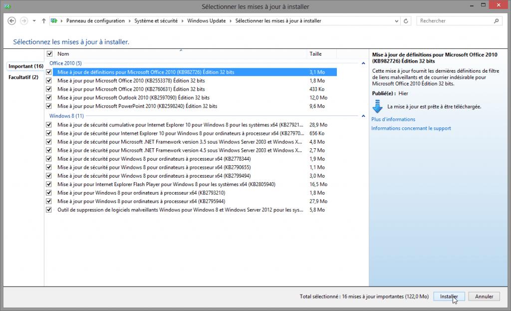 selectionner-mises-a-jour-a-installer-windows-update