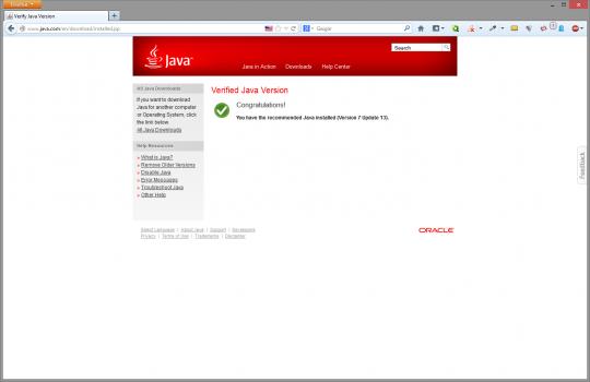 verification-version-java-installee-ok