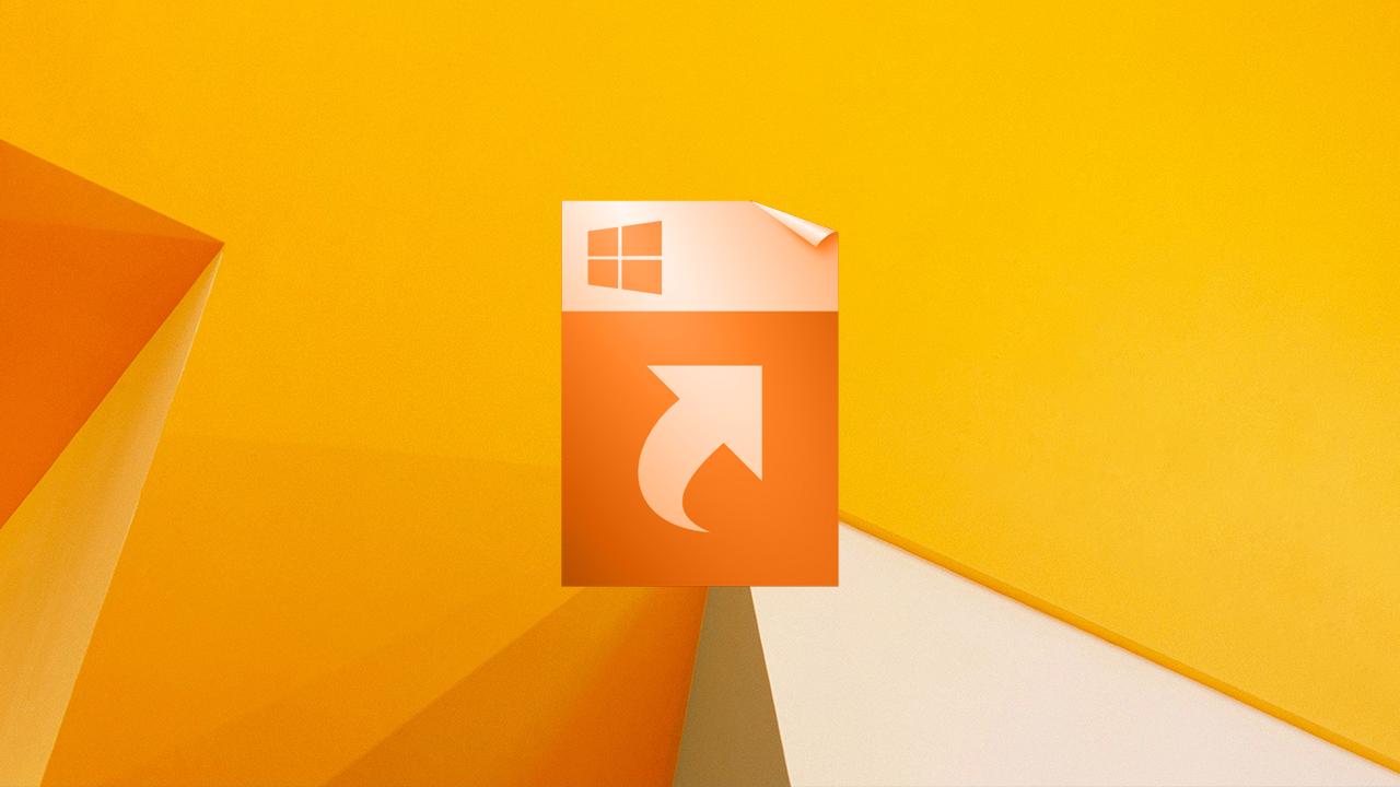 Créer un raccourci sur le bureau de Windows 8