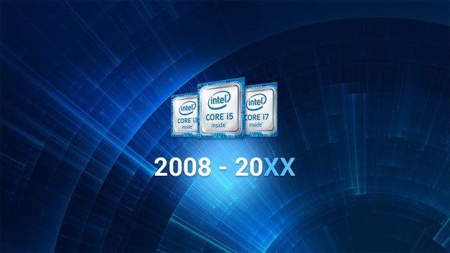 Historique et évolution des processeurs Intel Core
