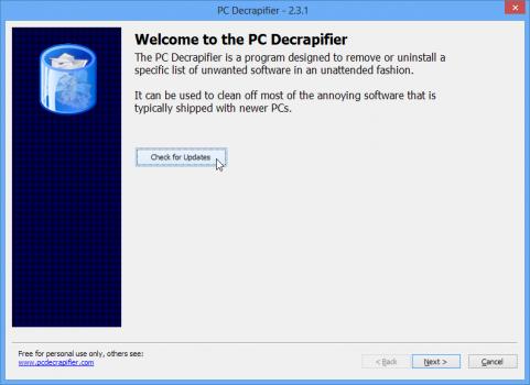 pc-decrapifier-supprimer-logiciels-inutiles-pc-neuf-check-updates