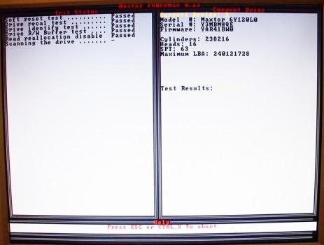 test-disque-dur-maxtor-powermax-hiren-bootcd