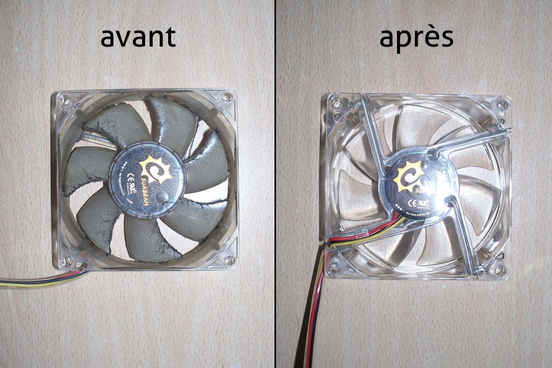 Nettoyer et enlever la poussi re de son ordinateur le for Rafraichir piece avec ventilateur