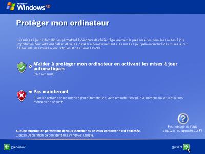 installation-windows-xp-proteger-ordinateur-activer-mises-a-jour-automatiques