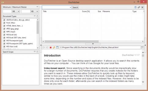 interface-docfetcher-logiciel-recherche-contenu-fichiers