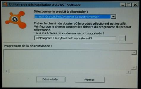 nettoyer-son-pc-lent-utilitaire-desinstallation-avast-selectionner-avast-version
