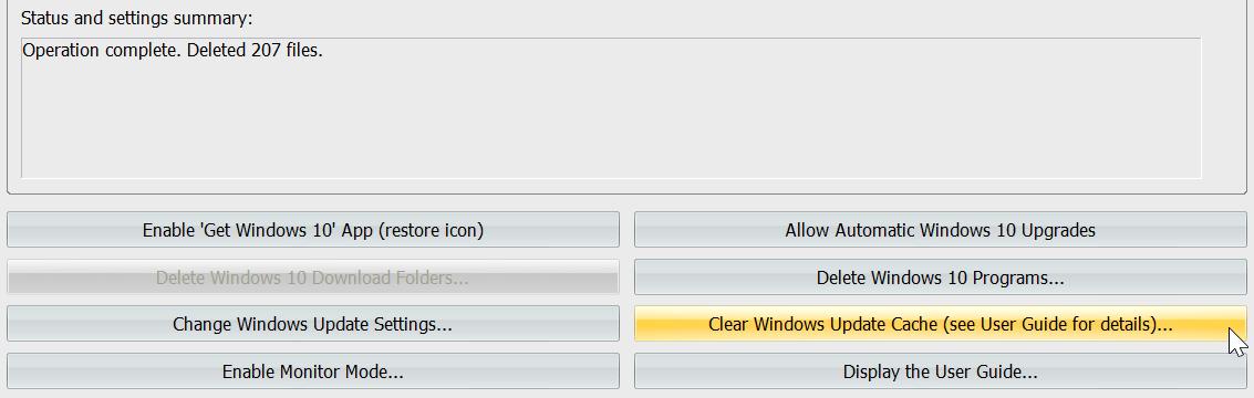 trouver désinstaller windows 10