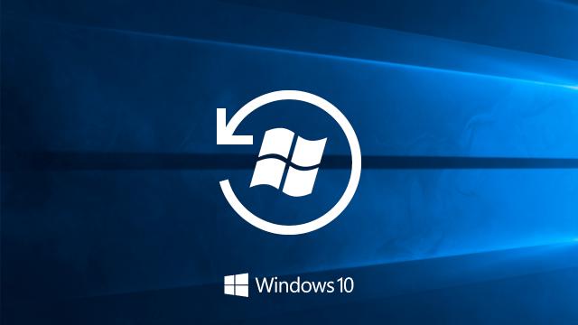 Désinstaller Windows 10 et revenir à Windows 7 ou 8.1