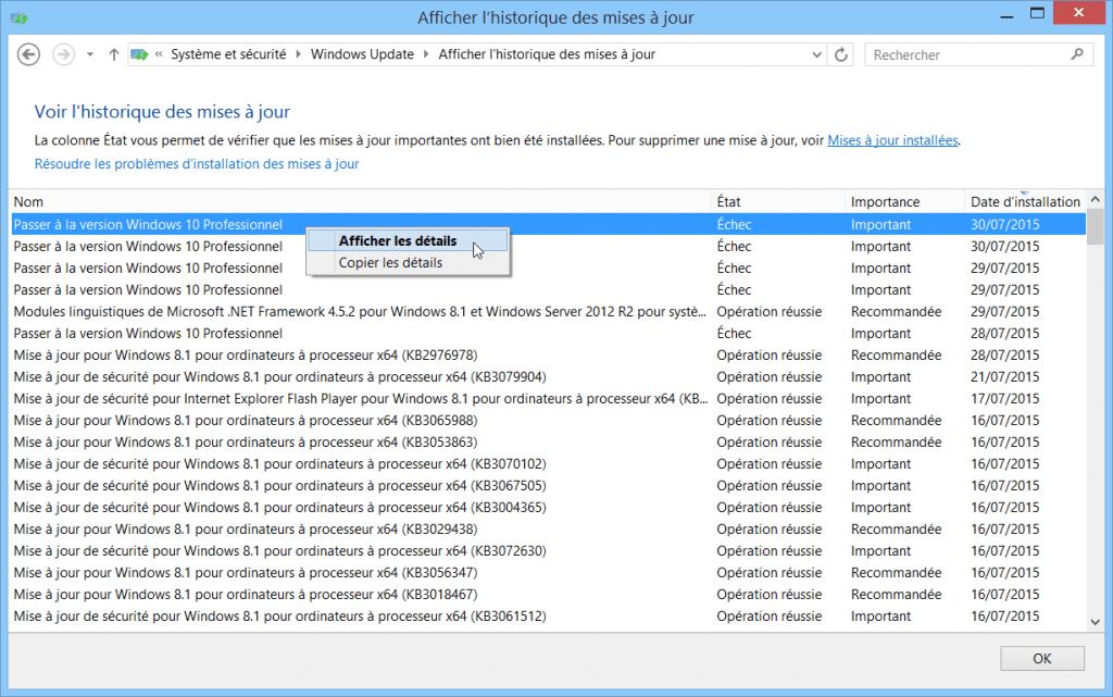 resoudre-echec-erreur-probleme-mise-a-jour-windows-10-sur-windows-update-echec-passer-windows-10-famille-professionnel
