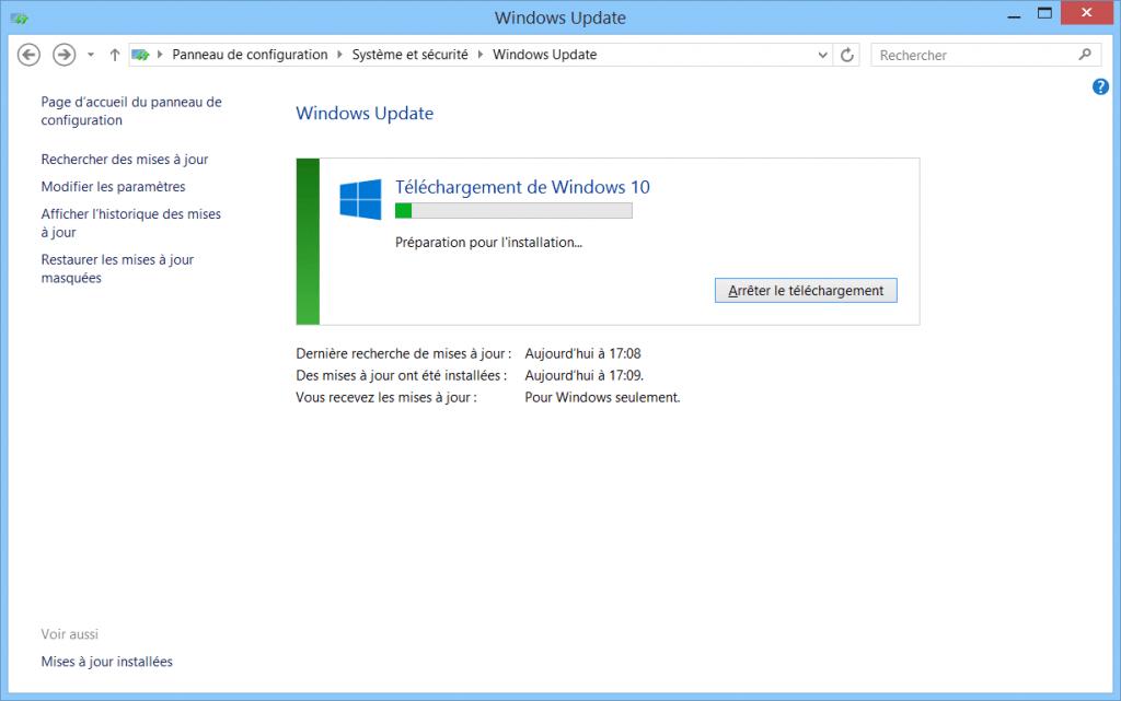 resoudre-echec-erreur-probleme-mise-a-jour-windows-10-sur-windows-update-preparation-installation-windows10