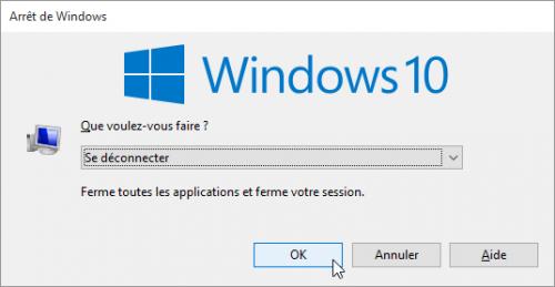 probleme-impossible-utiliser-barre-des-taches-et-menu-demarrer-bloques-sur-windows-10-commandes-se-deconnecter