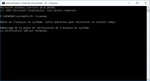 probleme-impossible-utiliser-barre-des-taches-et-menu-demarrer-bloques-sur-windows-10-sfc-scannow
