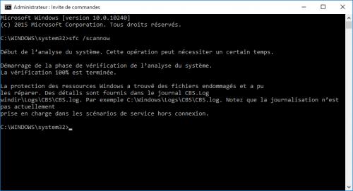 probleme-impossible-utiliser-barre-des-taches-et-menu-demarrer-bloques-sur-windows-10-sfc-scannow-reparer-fichiers-endommages