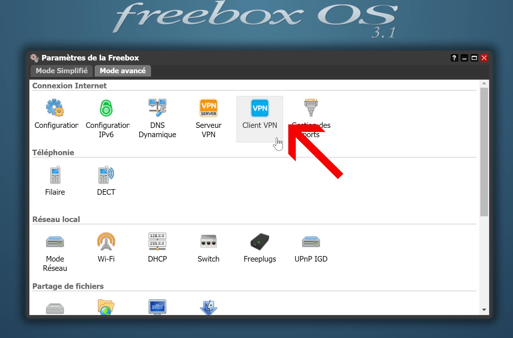 configurer-le-client-vpn-de-la-freebox-client-vpn