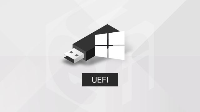 Créer une clé USB d'installation UEFI de Windows 10, 8.1 ou 7