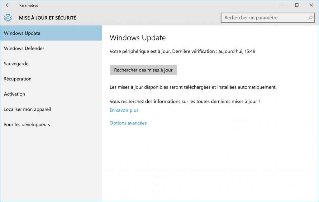desactiver-empecher-cacher-une-mise-a-jour-windows-update-sur-windows-10-systeme-a-jour