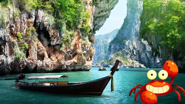 Le Crabe part en vacances !