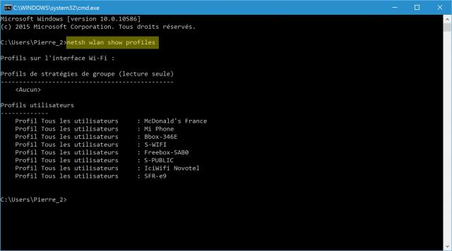 comment-retrouver-mot-de-passe-cle-wifi-perdue-oubliee-sous-windows-cmd-netsh-wlan-show-profiles