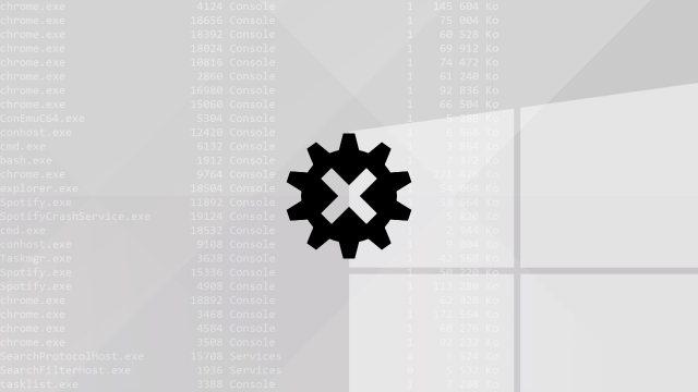 Tuer un processus en ligne de commande sous Windows