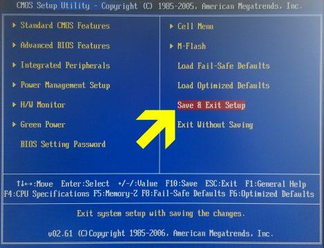 verifier-etat-sante-disque-dur-windows-smart-bios-save-exit