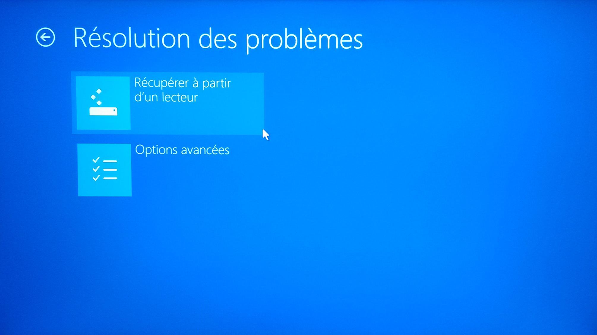 Creer Un Lecteur De Recuperation Usb Pour Windows 10 Le Crabe Info