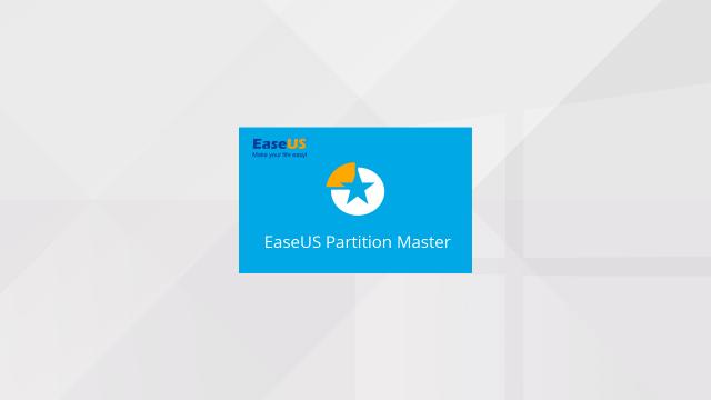EaseUS Partition Master, LE gestionnaire de partition pour Windows