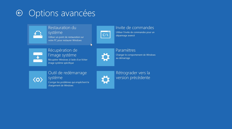 Windows 10 Tous Les Outils De Sauvegarde Et De Recuperation De