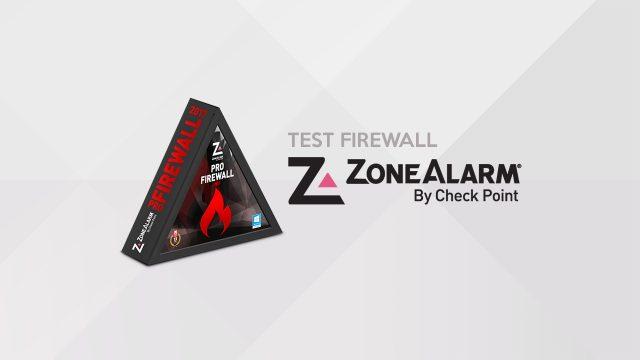 Test de ZoneAlarm Firewall, le pionnier des pare-feux personnels