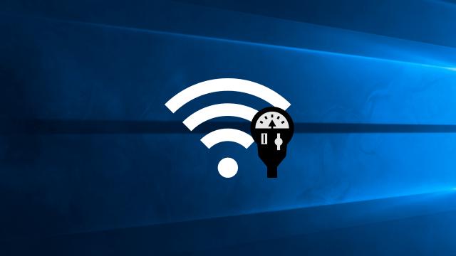 Définir une connexion Wi-Fi ou Ethernet comme limitée sur Windows10
