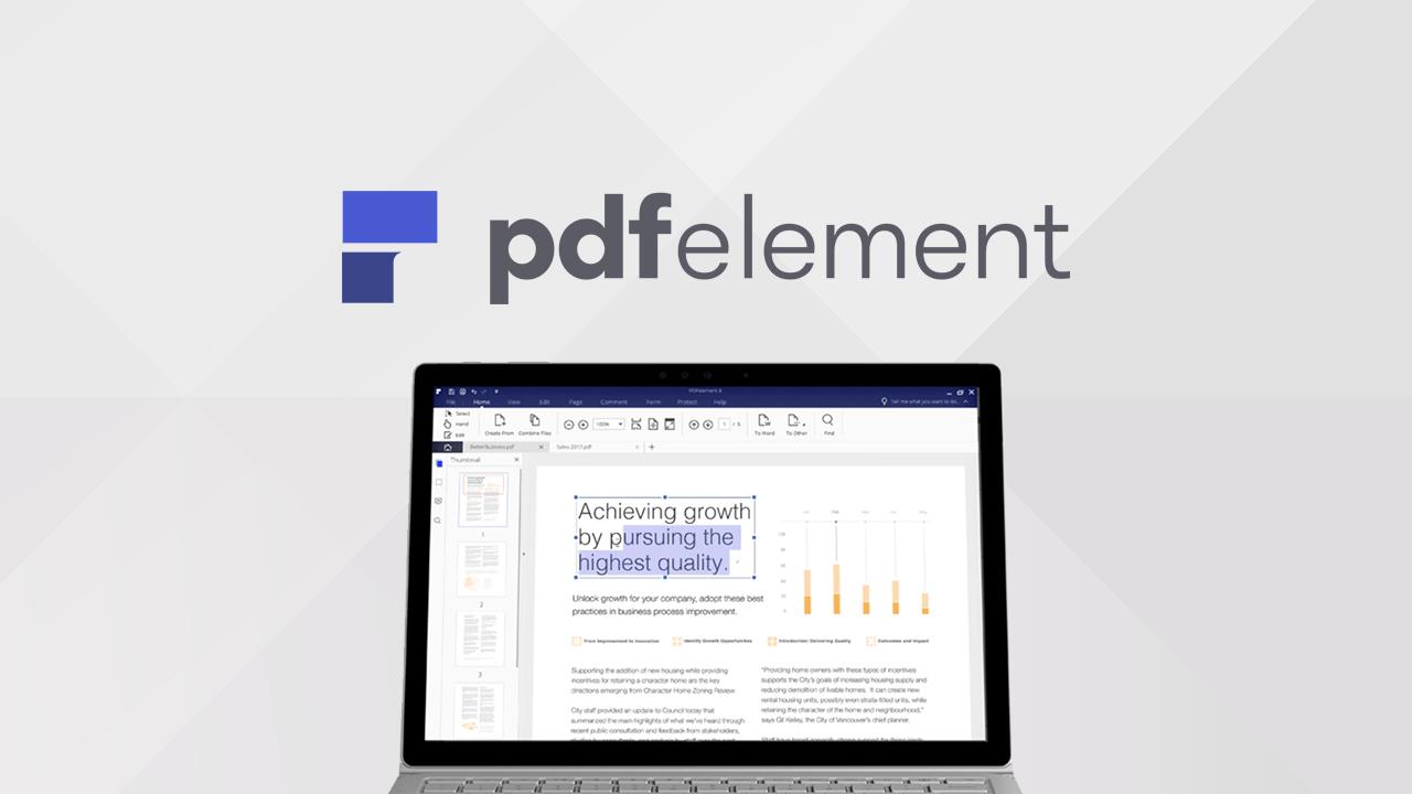 PDFelement 6 : nouvelle version pour l'éditeur de PDF sur Windows