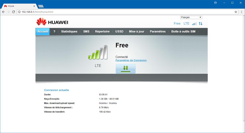 Installer et configurer sa box 4G : TP-Link Archer C7 + Huawei E3372