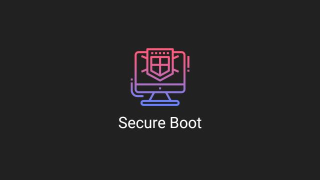 Désactiver le Secure Boot sur un PC UEFI