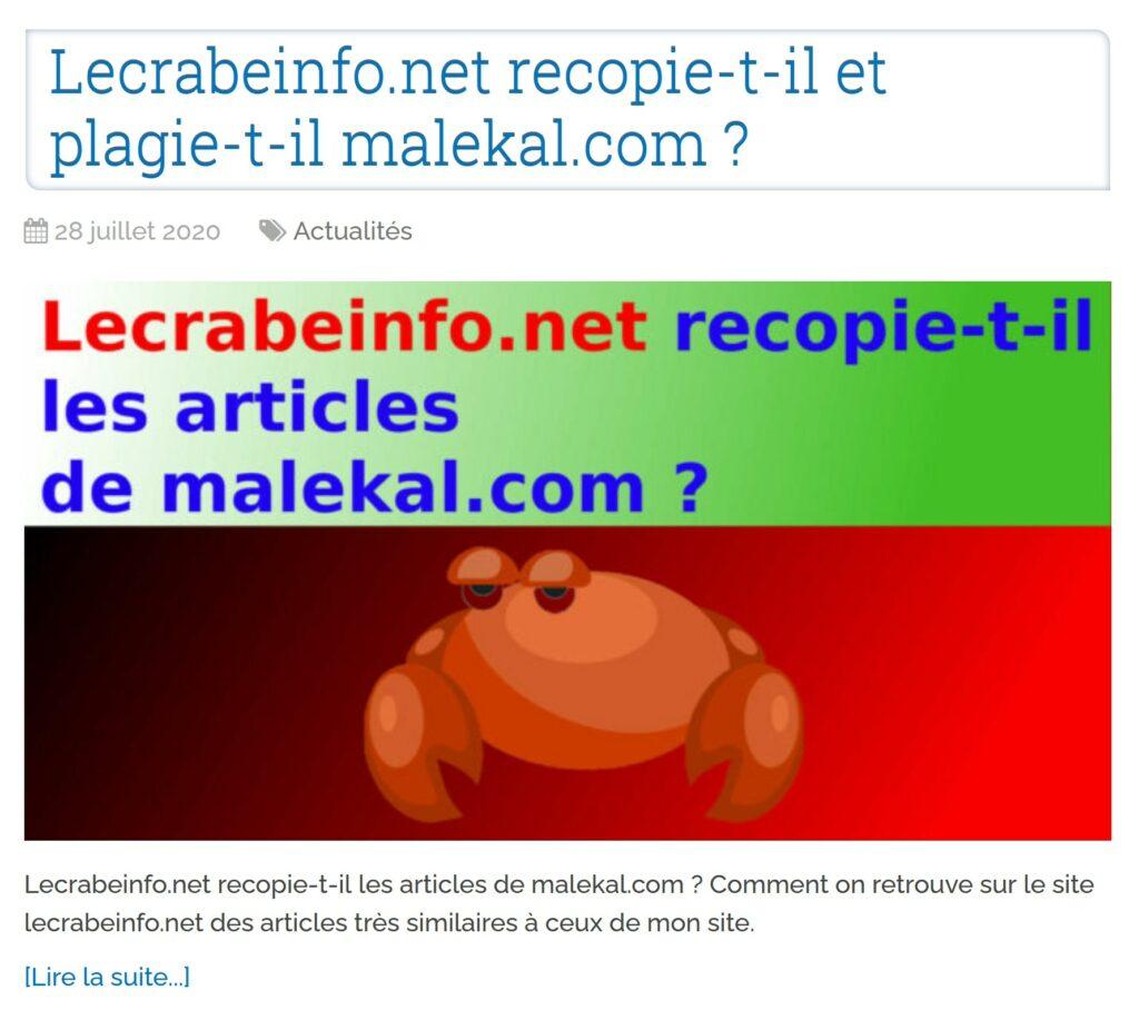 malekal plagiat article